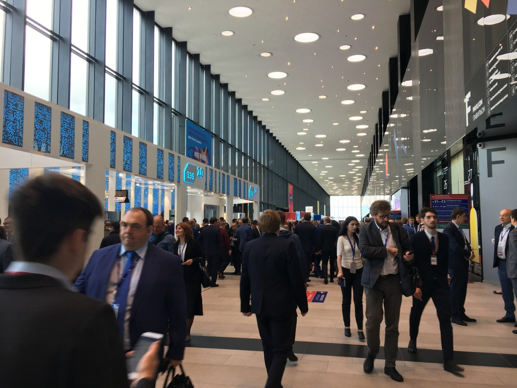 THE ANNUAL ST. PETERSBURG ECONOMIC FORUM (SPIEF) 2017