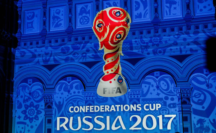 FIFA CONFEDERATIONS CUP OFFICIAL DRAW 2016