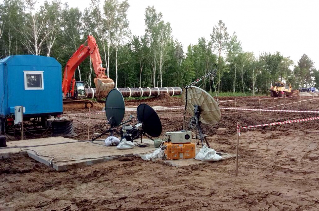 FIRST FOUNDATION LAID FOR AMUR GPP (TELECONFERENCE) 2017